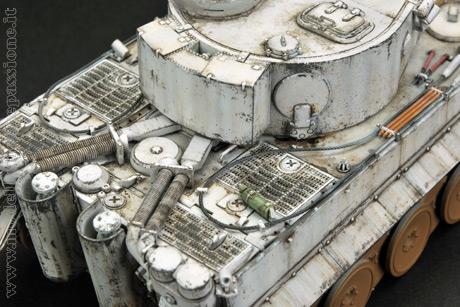 Panzer Tiger I realizzato dal modellista spagnolo Jose Luis